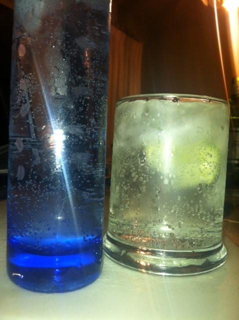 Slim Jim Gin and Tonic