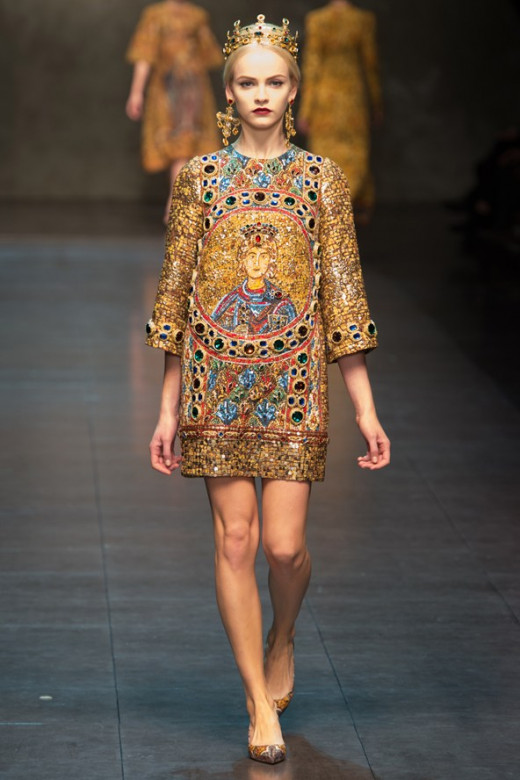 Dolce and Gabana @ Milan Fashion Week