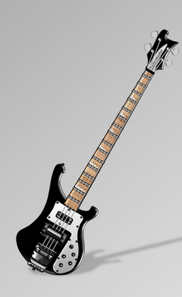 Rickenbacker 4003 Bass.  Cost: $1,500+