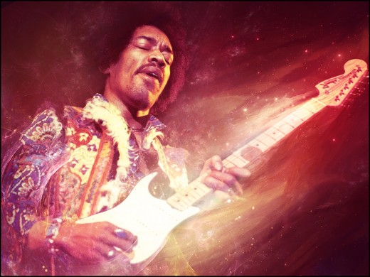 Nobody can touch Jimi when it comes to creativity and soulful, expressive soloing.