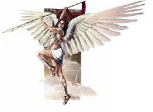 The Seraphim Angels are on the highest level of the Angel hierarchy. They are mentioned in the Holy Boble.