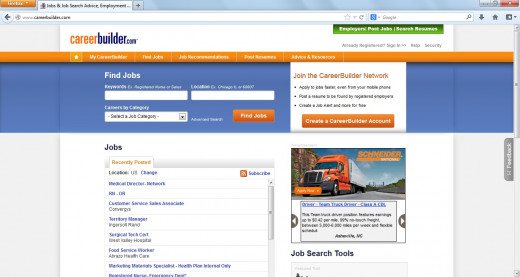 CareerBuilder.com is one of the top job sites for job seekers online.