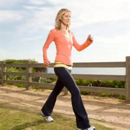 Some people feel that walking is better than running. It's certainly easier and there is little to know training necessary for most people to start walking right away.