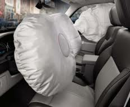 Air bags in automobiles have saved thousands of lives. Most vehicle have driver and passenger side airbags in the front of the car.