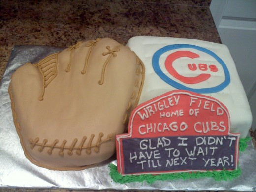 Sports Themed Grooms' Cake