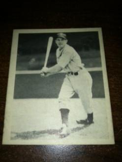 Baseball Card Help: 1939 Play Ball Sample Card