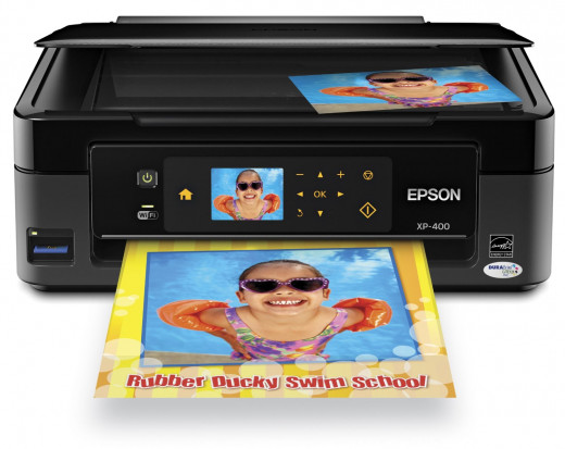 Epson Expression Home XP-400 Wireless All-in-One Color Inkjet Printer, Copier, Scanner
