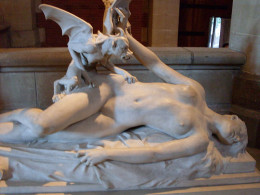 Statue depicting the Cauchemar...is this creature behind the phenomenon of sleep paralysis?