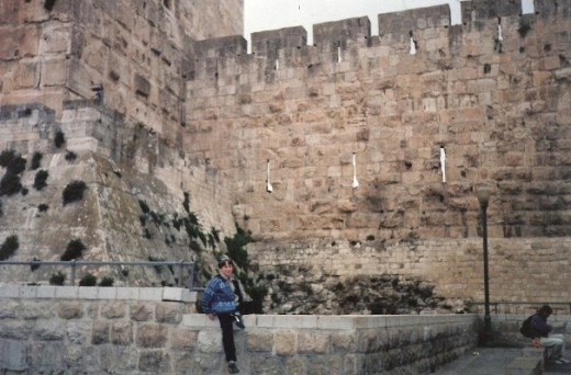 The Tower of David near the Jaffa Gate