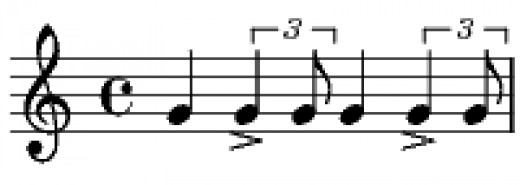 Play this jazz pattern over top of your blastbeats