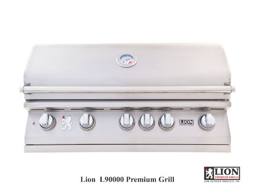 Lion 40 Inch Stainless Steel Built In Natural Gas Grill