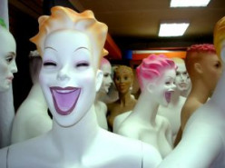 Unusual Dolls: Mannequins and Amish Figures
