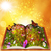 children's fairy tales from a magic book