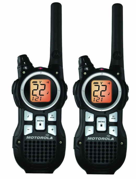Motorola MR350R 35-Mile Range 22-Channel FRS/GMRS Two-Way Radio