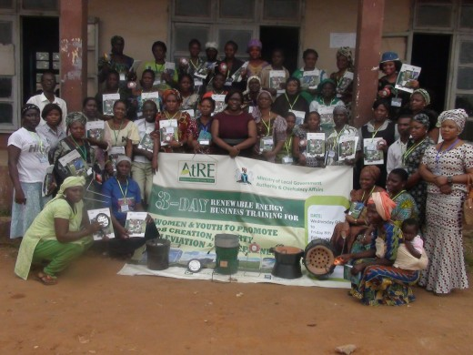 DevA UNDP and ATRE Energy poverty sponsored training in South West Nigeria facilitated by DevA