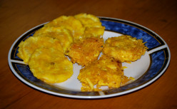 Island Bites: Tostones & Arañitas (Fried Plantain Spiders)