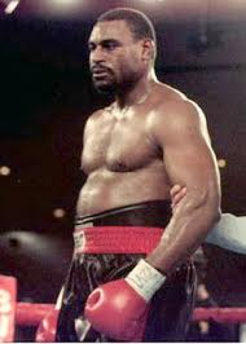 Oliver McCall broke down and cried in the ring against Lennox Lewis during the match.