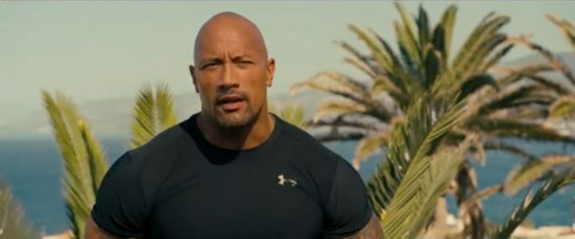 The Rock delivered another solid performance.