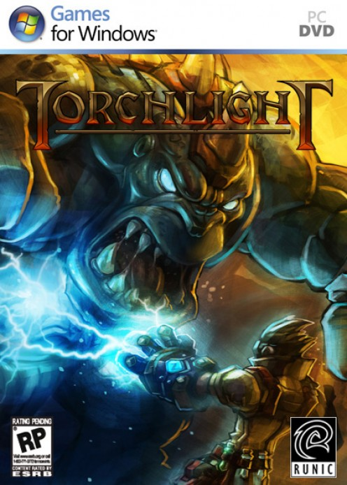 Torchlight PC game cover