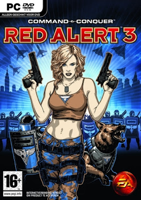 Red Alert 3 PC game cover
