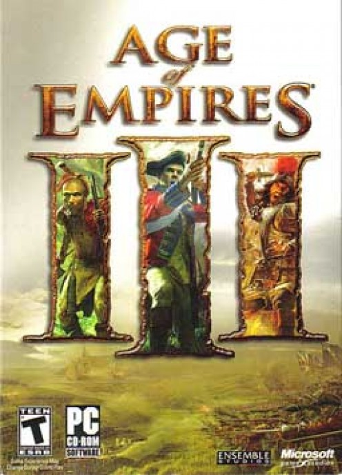 Age of Empires 3 PC game cover