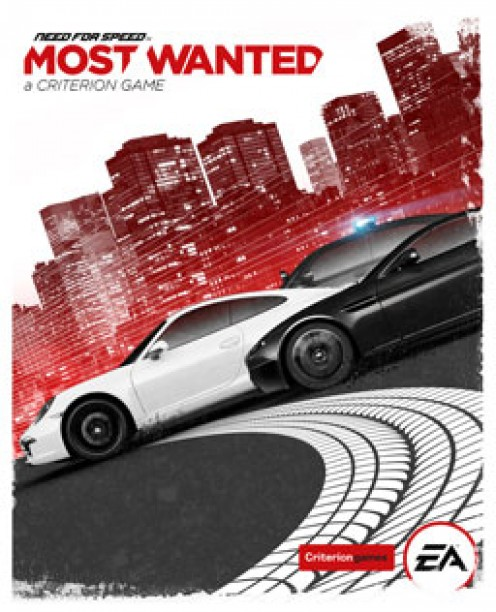Need for Speed most wanted PC game cover