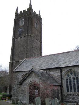 Murder of Nevell Norway - St Petrock's church, Egloshayle, Wadebridge, Cornwall.