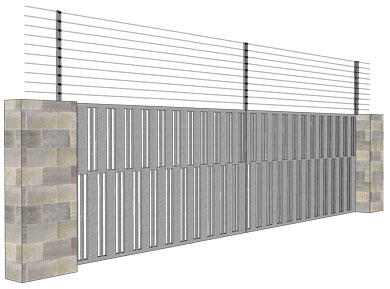 Sliding Gate installation