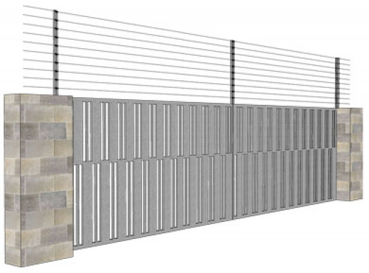 Sliding Gate installation