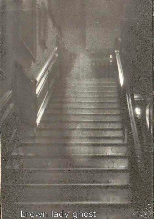 The most famous ghost photo ever taken is the brown lady ghost photo. Many people over the years have tried to prove the photo a fake but no one ever has.