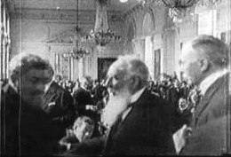 The signing of the Treaty in 1920