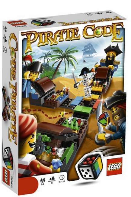 LEGO Pirate Code Game