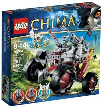 LEGO Chima Wakz Pack Tracker