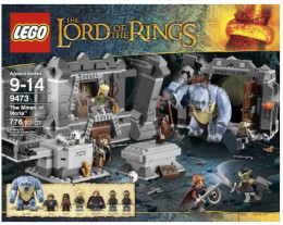 LEGO The Lord of the Rings Hobbit The Mines of Moria