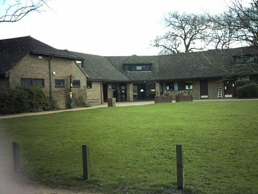 Drake Pavilion at Frimley Lodge Park.