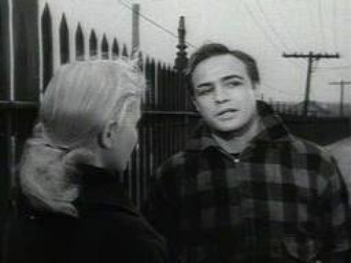 Marlon Brando stars in On The Waterfront which won 8 Academy Awards. It is considered one of the best gangster movies ever produced.