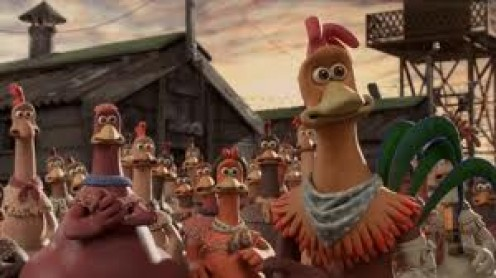 Chicken Run was filmed in England and it features the voice of Hollywood star Mel Gibson.
