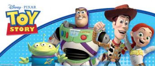 Toy Story has the voices of Tom Hanks and Tim Allen. This animated film was a classical for the record books.