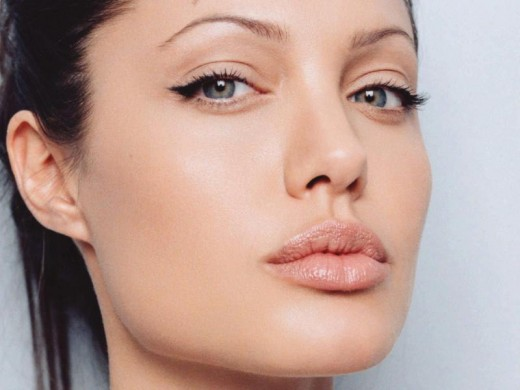 angelina jolie close up