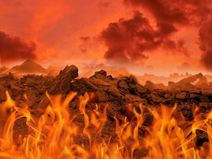 Is hell a literal place of fire?