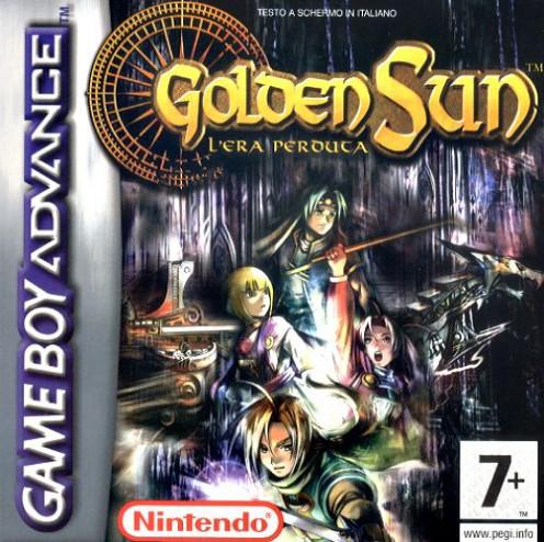 Golden Sun game cover