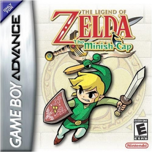 Zelda: The Minish Cap game cover