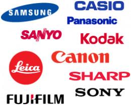 Digital SLR manufacturers