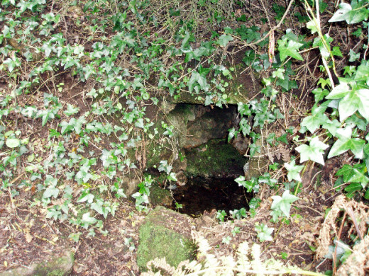 Alsia Holy Well, near Newlyn, Cornwall.