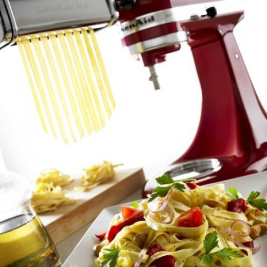 The pasta maker will enable you to produce perfect home made pasta!
