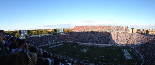Spartan Stadium - Michigan State - Ohio State 2012
