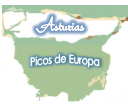The beautiful mountains of Picos de Europa are encapsulated in the region of Asturias and their neighbours.