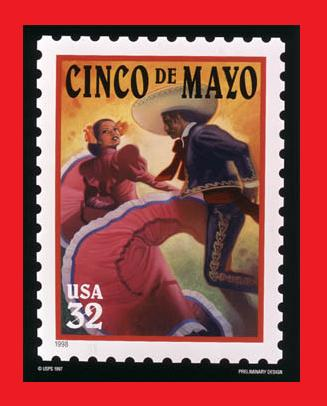 Cinco De Mayo U.S. Stamp