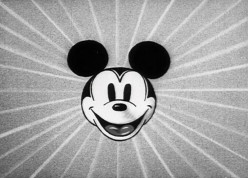 In the 1970s, the Mickey Mouse motif became suddenly cool on a T-shirt