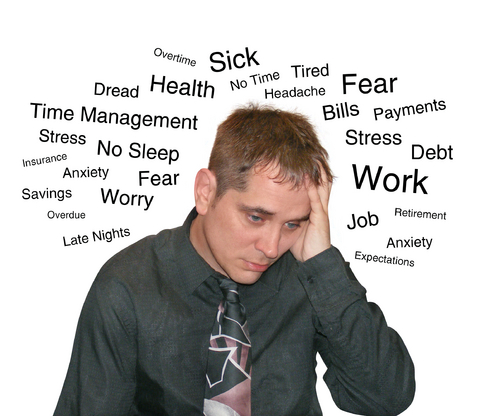 Stress aggravates the situation